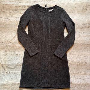 Lou & Grey Ribbed Fleece Sweater Dress